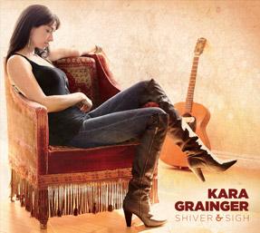 KARA GRAINGER shiverandsigh CD COVER