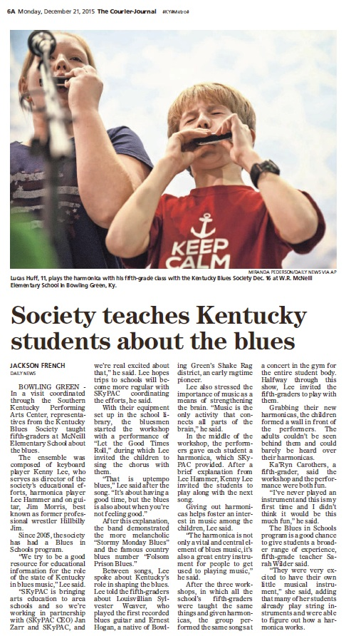 Courier Journal article